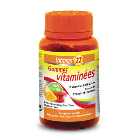 VITAMIN'22 GOMMES VITAMINEES